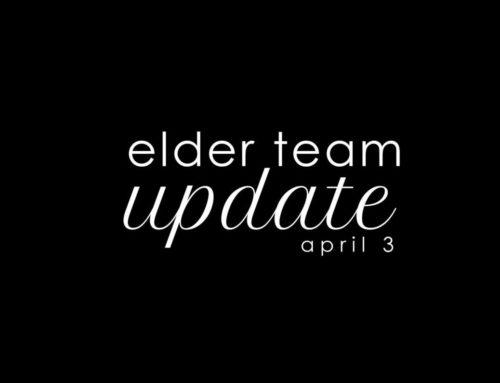 Elder Update April 3